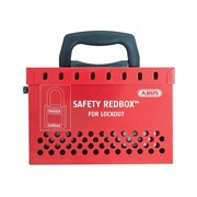 """ABUS Mechanical B835 Safety Redboxâ""""¢ For Group Lockout"""