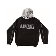 Apache Black / Grey Hooded Sweatshirts