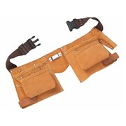 BlueSpot Tools Double Leather Tool Pouch - Regular