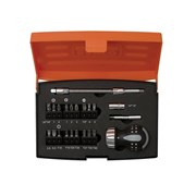 Bahco 808050S-22 Stubby Ratchet Screwdriver Set of 22