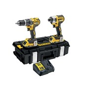 DCK266D2 XR Brushless Twin Pack 18 Volt 2 x 2.0Ah Li-Ion