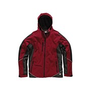 Dickies Two Tone Soft Shell Red/Black Jacket