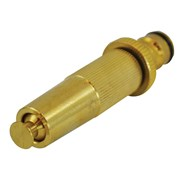 Faithfull Brass Adjustable Spray Nozzle 12.5mm (1/2in)