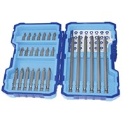 Faithfull Bit Set 27 Piece 25mm 50mm & 125mm Bits