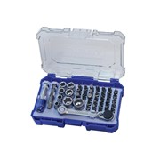 Faithfull Screwdriver Bit & Socket Set 42 Piece