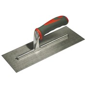 Faithfull Plasterers Trowel Stainless Steel Soft Grip Handle