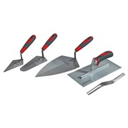 Trowel Set of 5 Soft-Grip Handle