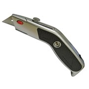 Faithfull Trimming Knife Angled Head Retractable Blade