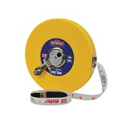 Faithfull Closed ABS Fibreglass Long Tape 30m / 100ft (Width 13mm)