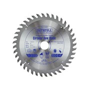 Faithfull Circular Saw Blades TCT 150mm