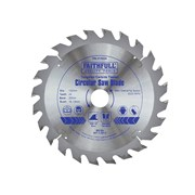Faithfull Circular Saw Blade 152 x 20mm x 24T Fast Rip