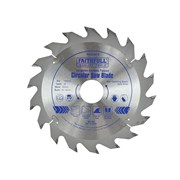 Faithfull Circular Saw Blade 165 x 30mm x 18T Fast Rip