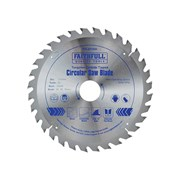 Faithfull Circular Saw Blade 210 x 16/25/30/35 x 32T Fine Finish