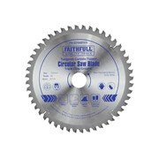 Faithfull Circular Saw Blade 216 x 30mm x 48T TCG NEG