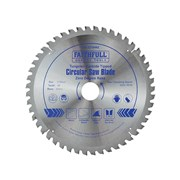 Faithfull Circular Saw Blade 216 x 30mm x 48T Zero Degree