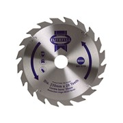 Faithfull Circular Saw Blades TCT 235mm