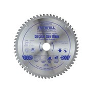 Faithfull Circular Saw Blade 250 x 30mm x 60T TCG Fine Finish