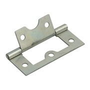 Forge Flush Hinges Zinc Plated