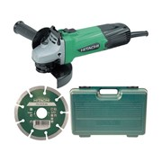 G12SSCD Grinder with Diamond Blade & Case 115mm