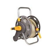 Hozelock 2431 45m Assembled Hose Reel & 25 Metres of 12.5mm Hose