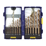 IRWIN HSCO Pro Drill Set 15 Piece 1-10mm