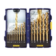 IRWIN HSS TiN Pro Drill Set 15 Piece