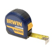 IRWIN Standard Pocket Tape 8m/26ft (Width 25mm) Carded