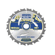IRWIN Weldtec Circular Saw Blade 160mm