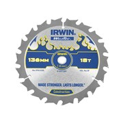 IRWIN Weldtec Circular Saw Blade 136mm