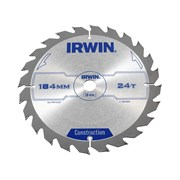 IRWIN Professional Circular Saw Blade 184 x 16mm x 24T - Wood