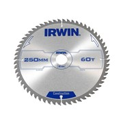 IRWIN Professional Circular Saw Blade 250 x 30mm x 60T - Wood