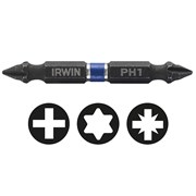 IRWIN Impact Double Ended Screwdriver Bits Phillips