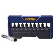 IRWIN Impact Screwdriver Bit Set of 10 Pozi/Phillips/Torx