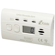 Kidde 10LLDCO Carbon Monoxide Alarm Digital Sealed Battery 10 Year