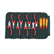 Knipex Pliers & Screwdriver Set in Toolbag 11 Piece