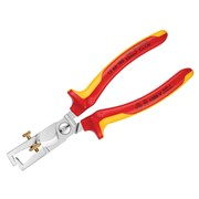 Knipex StriX Insulation Stripper with Cable Shears VDE Certified Grip 180mm