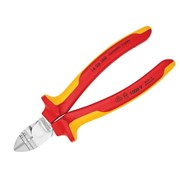 Knipex Diagonal Insulation Stripper & Side Cutters VDE Certified Grip 160mm