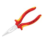 Knipex Snipe Nose Side Cutting Pliers (Radio) VDE Certified Grip 160mm