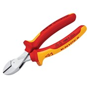 Knipex X-Cut Compact Diagonal Cutters VDE Certified Grip 160mm