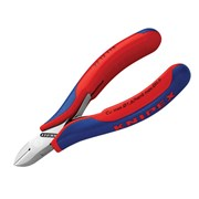 Knipex Electronic Diagonal Cut Pliers - Round Bevelled 115mm