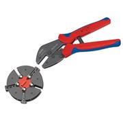 Knipex Multicrimp® Pliers Set - 3 Quick Change Cartridges