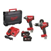 "Milwaukee M18 ONEPP2-502X Fuelâ""¢ ONE-KEYâ""¢ Twin Pack 18 Volt 2 x 5.0Ah Li-Ion"