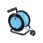 Masterplug Cable Reel 2 Socket 10A Thermal Cutout 240 Volt