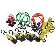 Olympia Ratchet Tie-Down & Bungee Set 22 Piece