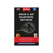 Rentokil Mouse & Rat Killer Pasta Bait Packs 10 Sachets