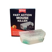 Rentokil Fast Action Mouse Killer (Pack of 2)