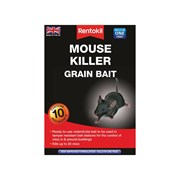 Rentokil Mouse Killer Grain Bait  Pack of 10