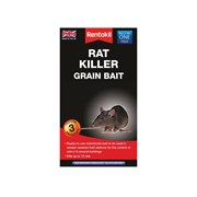 Rentokil Rat Killer Grain Bait Pack of 3 Sachets