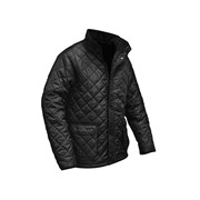 Roughneck Clothing Black Quilted Jackets