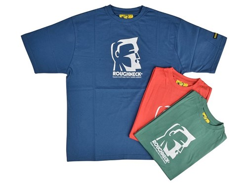 Roughneck Clothing T-Shirt Triple Pack Mixed Colours